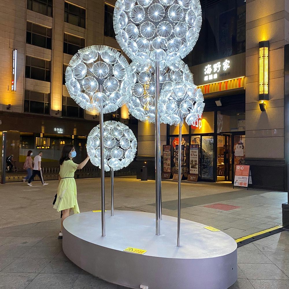 灯饰 街区包装 亮化工程 美陈