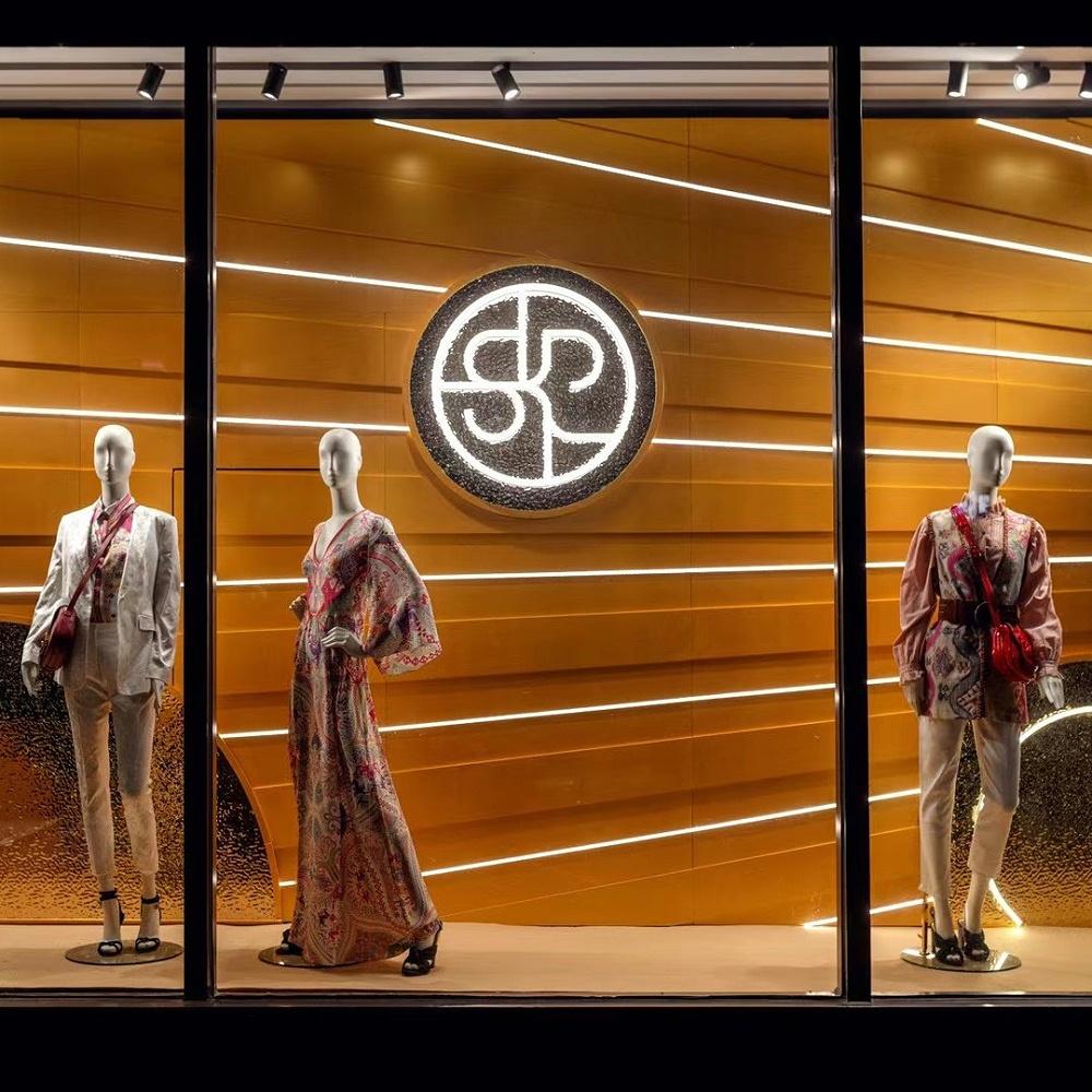 skp橱窗 街区包装 美陈装饰