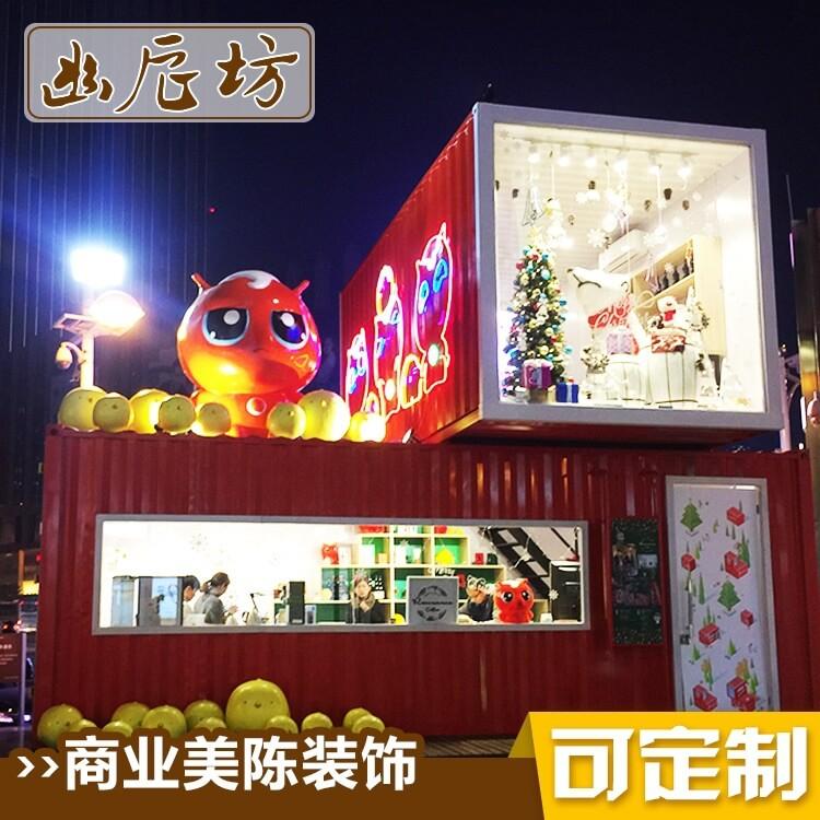 圣诞节场景布置搭建 商场购物中心